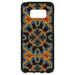 Tapestry Pattern Samsung Galaxy S8 Black Seamless Case by linceazul