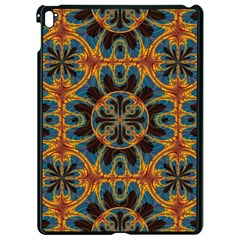 Tapestry Pattern Apple Ipad Pro 9 7   Black Seamless Case by linceazul