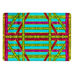 Gift Wrappers For Body And Soul Samsung Galaxy Tab 10 1  P7500 Flip Case by pepitasart