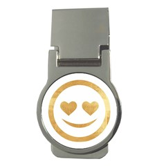 Gold Smiley Face Money Clips (round)  by 8fugoso