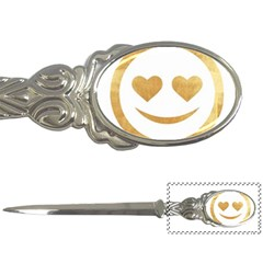 Gold Smiley Face Letter Openers by 8fugoso