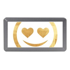 Gold Smiley Face Memory Card Reader (mini) by 8fugoso