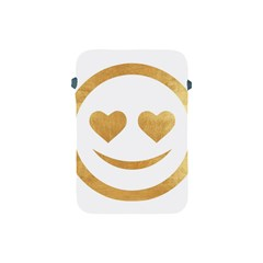Gold Smiley Face Apple Ipad Mini Protective Soft Cases by 8fugoso