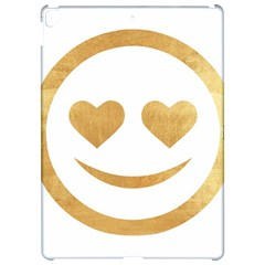 Gold Smiley Face Apple Ipad Pro 12 9   Hardshell Case by 8fugoso