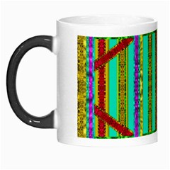 Gift Wrappers For Body And Soul In  A Rainbow Mind Morph Mugs by pepitasart