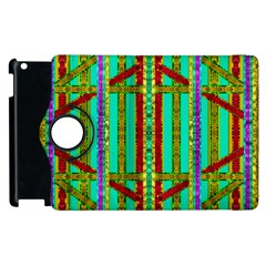 Gift Wrappers For Body And Soul In  A Rainbow Mind Apple Ipad 3/4 Flip 360 Case by pepitasart
