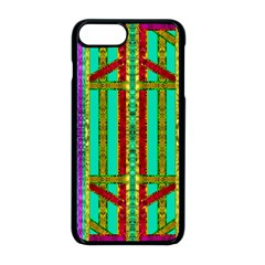 Gift Wrappers For Body And Soul In  A Rainbow Mind Apple Iphone 8 Plus Seamless Case (black) by pepitasart