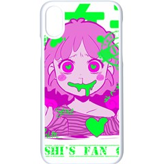 Fujoshi Apple Iphone X Seamless Case (white) by psychodeliciashop