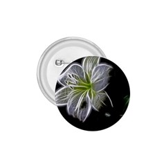 White Lily Flower Nature Beauty 1 75  Buttons by Celenk