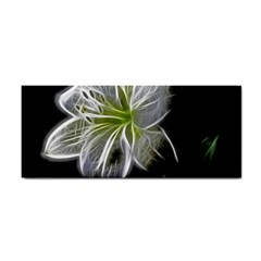 White Lily Flower Nature Beauty Cosmetic Storage Cases by Celenk