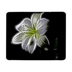 White Lily Flower Nature Beauty Samsung Galaxy Tab Pro 8 4  Flip Case by Celenk