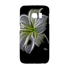 White Lily Flower Nature Beauty Galaxy S6 Edge by Celenk