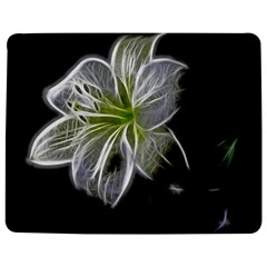 White Lily Flower Nature Beauty Jigsaw Puzzle Photo Stand (rectangular)