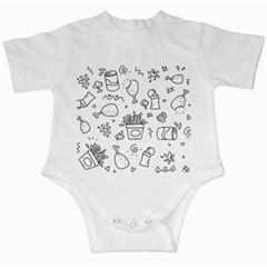 Set Chalk Out Scribble Collection Infant Creepers