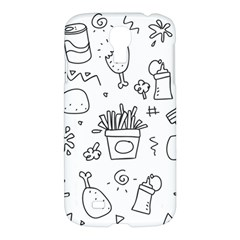 Set Chalk Out Scribble Collection Samsung Galaxy S4 I9500/i9505 Hardshell Case by Celenk