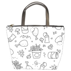 Set Chalk Out Scribble Collection Bucket Bags