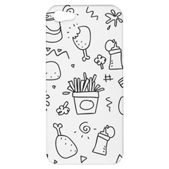Set Chalk Out Scribble Collection Apple Iphone 5 Hardshell Case by Celenk
