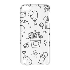 Set Chalk Out Scribble Collection Apple Ipod Touch 5 Hardshell Case by Celenk