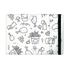Set Chalk Out Scribble Collection Apple Ipad Mini Flip Case by Celenk