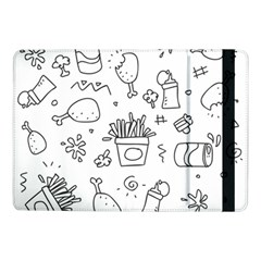 Set Chalk Out Scribble Collection Samsung Galaxy Tab Pro 10 1  Flip Case by Celenk