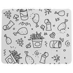 Set Chalk Out Scribble Collection Jigsaw Puzzle Photo Stand (rectangular) by Celenk