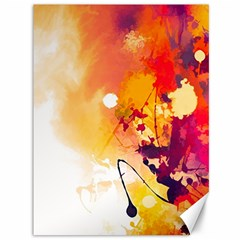 Paint Splash Paint Splatter Design Canvas 36  X 48   by Celenk