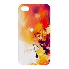 Paint Splash Paint Splatter Design Apple Iphone 4/4s Hardshell Case by Celenk