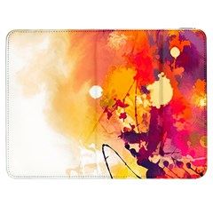 Paint Splash Paint Splatter Design Samsung Galaxy Tab 7  P1000 Flip Case by Celenk