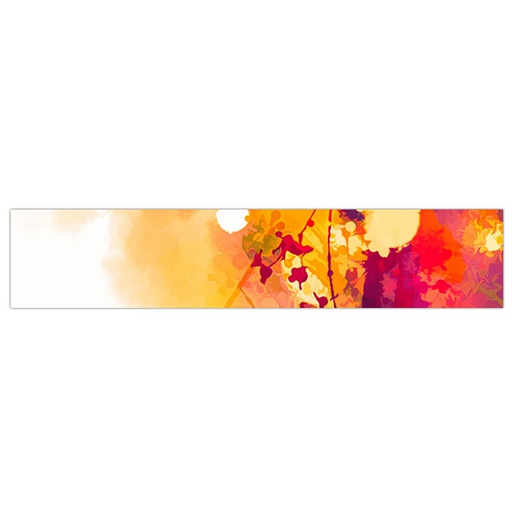 Paint Splash Paint Splatter Design Small Flano Scarf