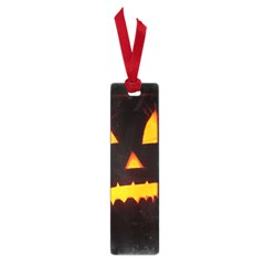 Pumpkin Helloween Face Autumn Small Book Marks by Celenk