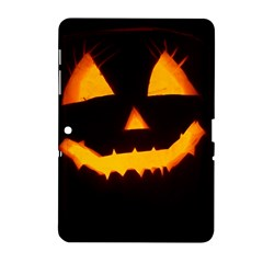 Pumpkin Helloween Face Autumn Samsung Galaxy Tab 2 (10 1 ) P5100 Hardshell Case  by Celenk