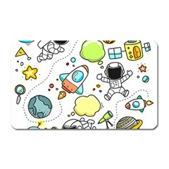 Sketch Set Cute Collection Child Magnet (rectangular)