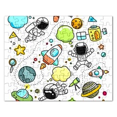 Sketch Set Cute Collection Child Rectangular Jigsaw Puzzl