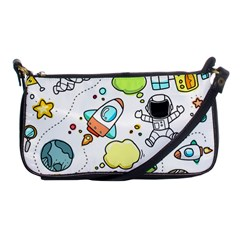 Sketch Set Cute Collection Child Shoulder Clutch Bags by Celenk