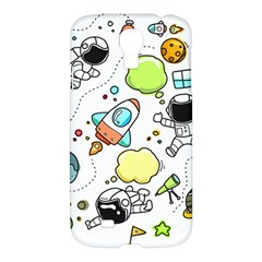 Sketch Set Cute Collection Child Samsung Galaxy S4 I9500/i9505 Hardshell Case by Celenk