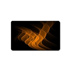 Background Light Glow Abstract Art Magnet (name Card) by Celenk