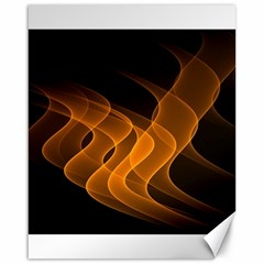 Background Light Glow Abstract Art Canvas 16  X 20