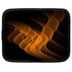 Background Light Glow Abstract Art Netbook Case (xxl)  by Celenk