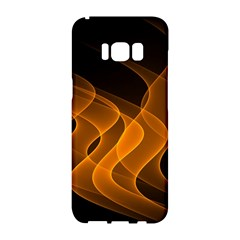 Background Light Glow Abstract Art Samsung Galaxy S8 Hardshell Case