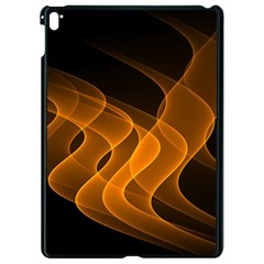 Background Light Glow Abstract Art Apple Ipad Pro 9 7   Black Seamless Case