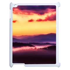 Great Smoky Mountains National Park Apple Ipad 2 Case (white) by Celenk