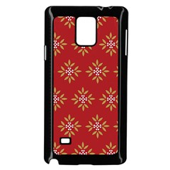 Pattern Background Holiday Samsung Galaxy Note 4 Case (black)