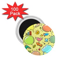 Cute Sketch Child Graphic Funny 1 75  Magnets (100 Pack)  by Celenk