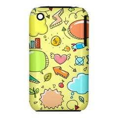 Cute Sketch Child Graphic Funny Iphone 3s/3gs by Celenk