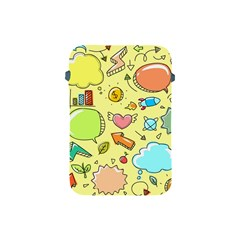 Cute Sketch Child Graphic Funny Apple Ipad Mini Protective Soft Cases by Celenk