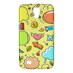 Cute Sketch Child Graphic Funny Samsung Galaxy Mega 6 3  I9200 Hardshell Case by Celenk