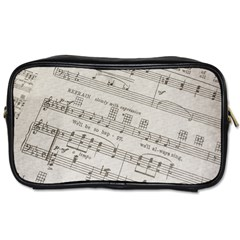 Sheet Music Paper Notes Antique Toiletries Bags
