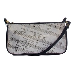 Sheet Music Paper Notes Antique Shoulder Clutch Bags
