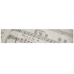 Sheet Music Paper Notes Antique Large Flano Scarf  by Celenk