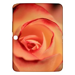 Rose Orange Rose Blossom Bloom Samsung Galaxy Tab 3 (10 1 ) P5200 Hardshell Case  by Celenk